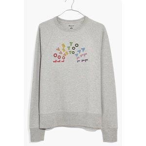 Madewell x Human Rights Love to All Sweatshirt